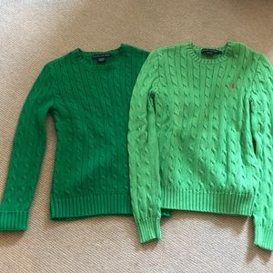 Polo Cable Cotton Sweaters (2)